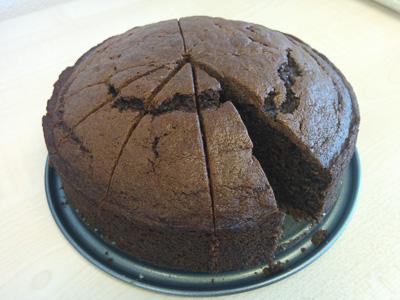 Random chocolate cake