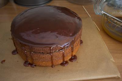 Layered Caramel cake