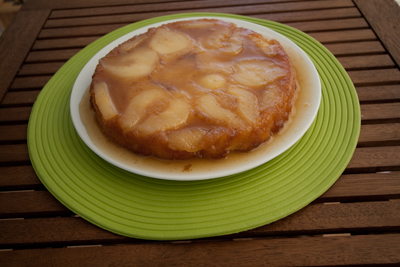 Spicey pear cake